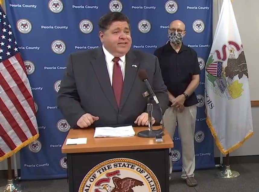 Pritzker: 'We're at a danger point' as state continues to see increase in COVID-19 cases