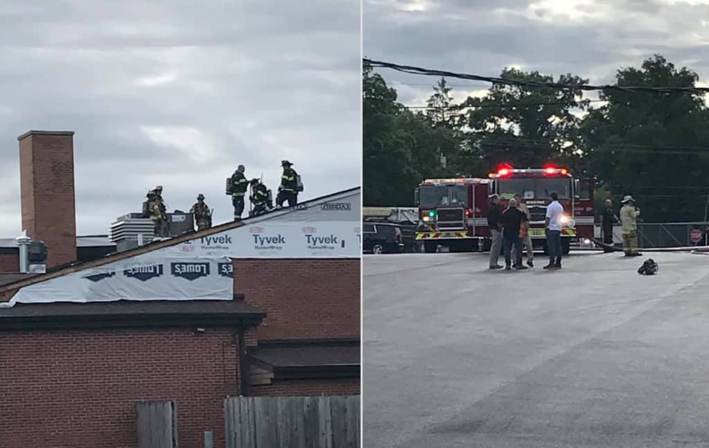 Fire damages roof of elementary school in Beach Park
