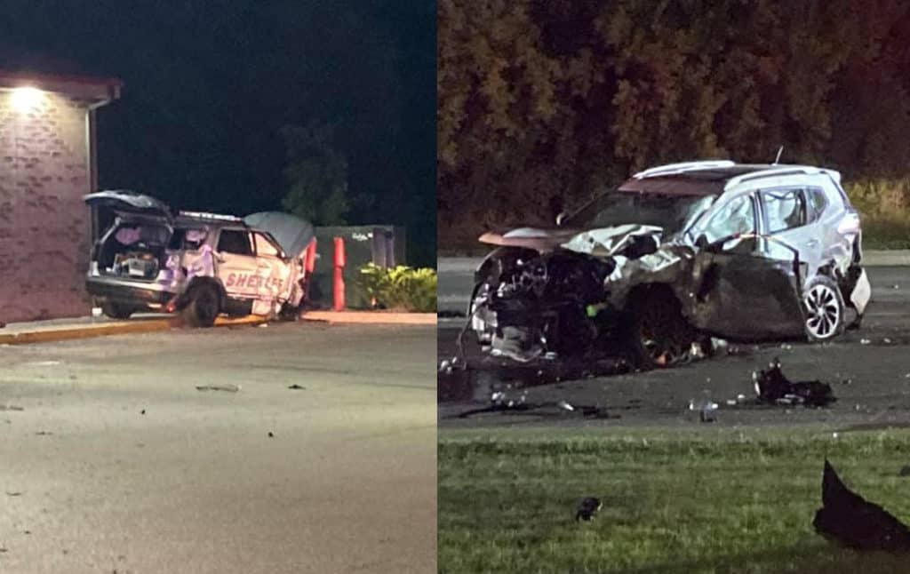 Lake County sheriff's deputy, woman seriously injured in Beach Park crash