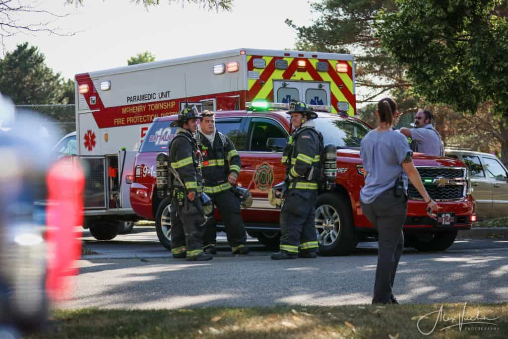 Man suffers burns during apartment fire in McHenry