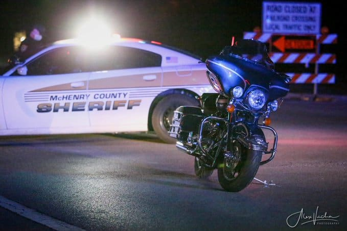 Motorcyclist seriously injured in crash near Crystal Lake