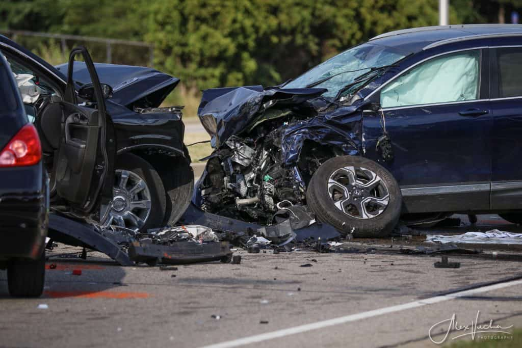 1 dead, several injured after wrong-way driver crashes into four cars in Crystal Lake