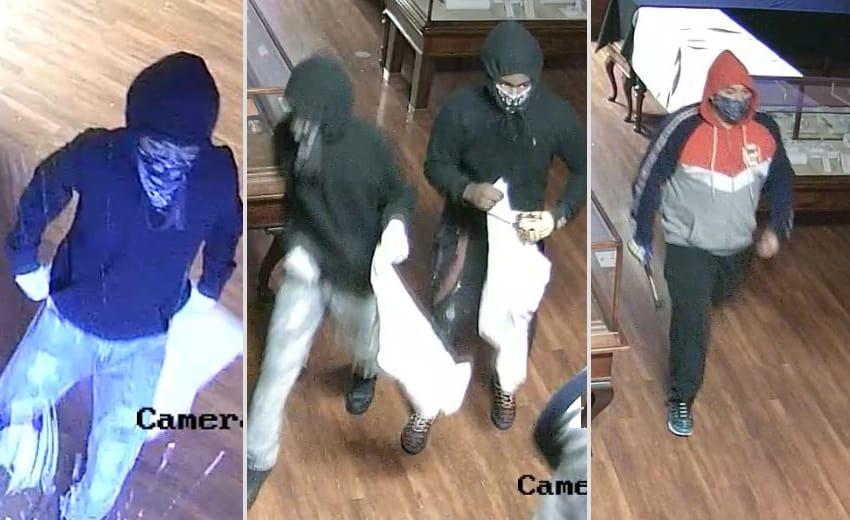 Three men smash window, burglarize jewelry store overnight in Crystal Lake