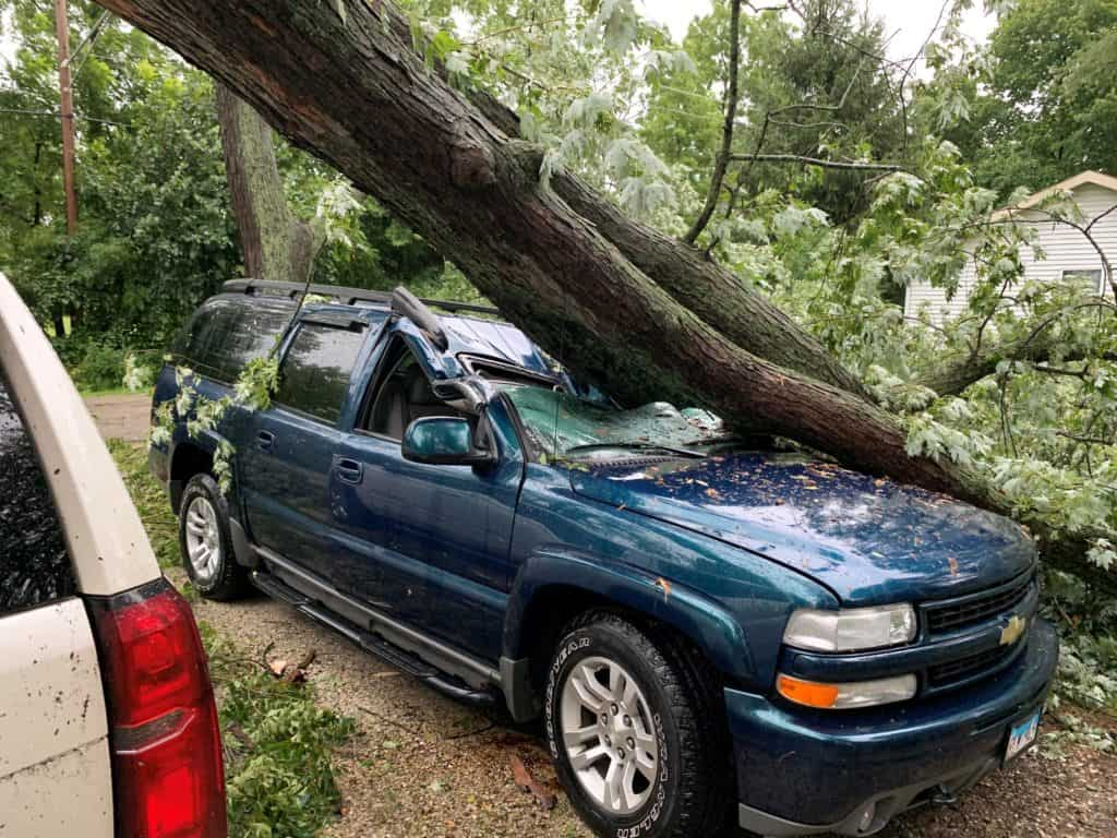 Derecho Causes Widespread Damage Leaves Thousands Without