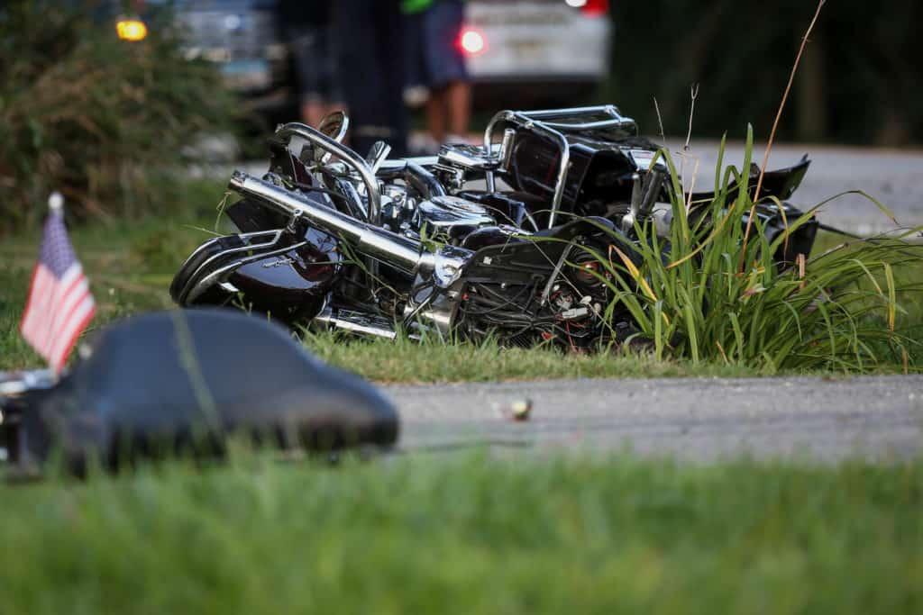 Motorcyclist killed in single-vehicle crash near Woodstock
