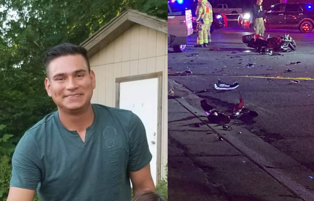 Authorities identify North Chicago man who died after motorcycle collided with truck in Waukegan