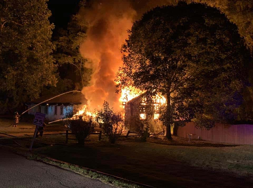 Winthrop Harbor home left uninhabitable after fire engulfs residence