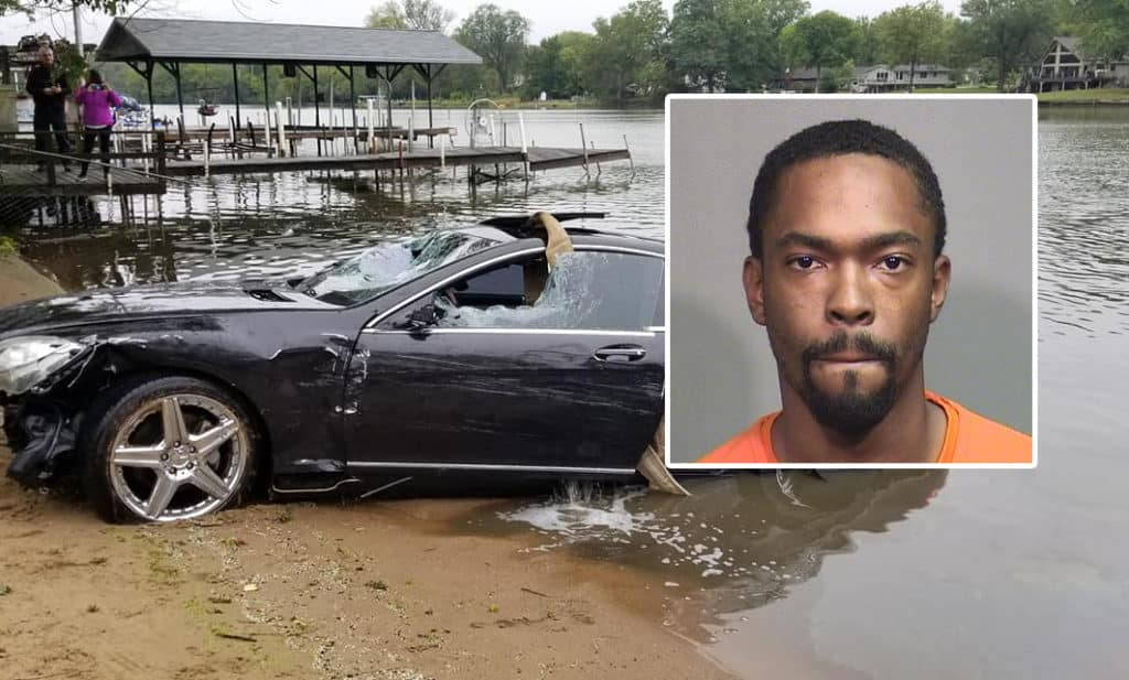 Charges filed against Schaumburg man who drove car into river in Fox River Grove