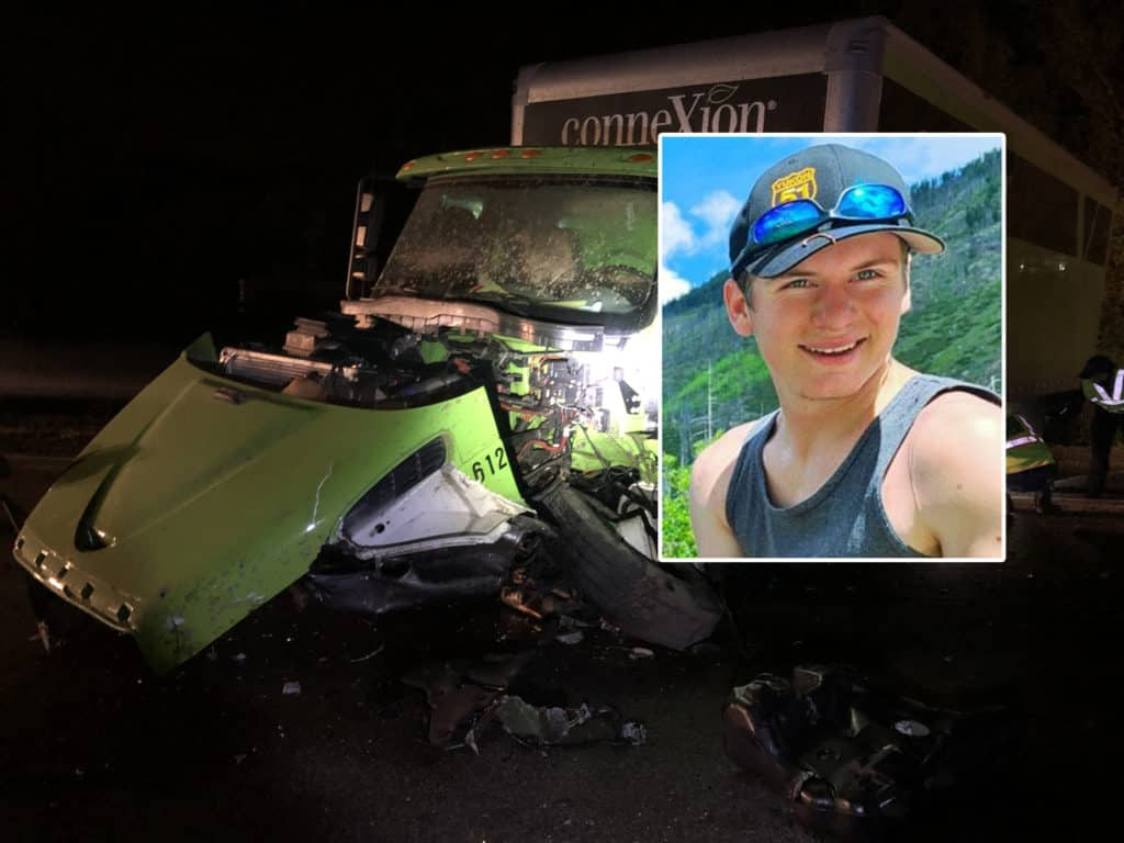 Authorities identify 21-year-old man killed after crashing into box truck in Wauconda