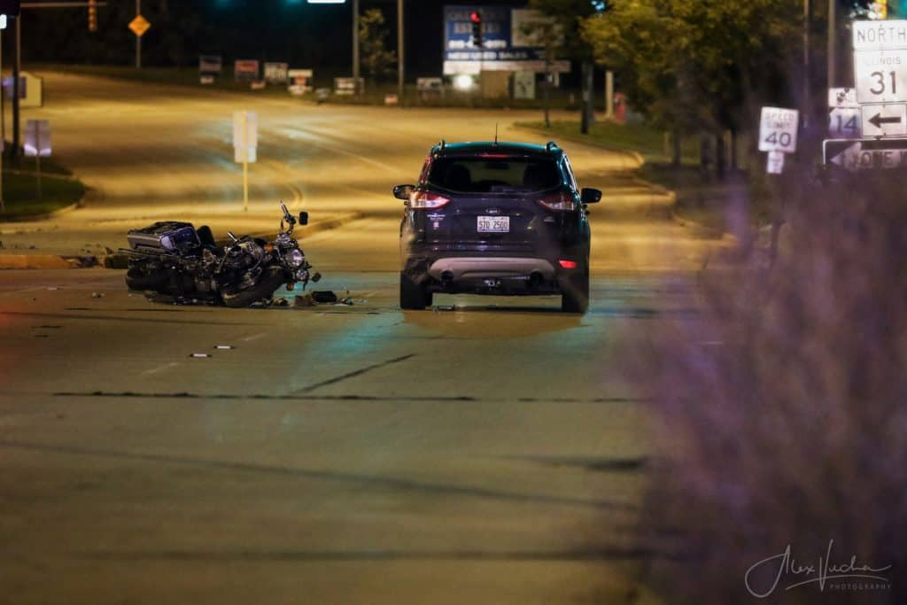Man charged with DUI after woman seriously injured in motorcycle crash in Crystal Lake