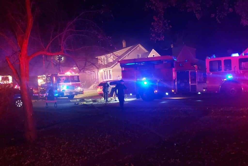 Fire pit believed to be cause of house fire in Round Lake Park