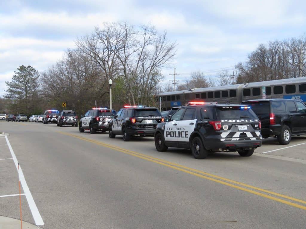 Death investigation underway after body found near railroad tracks in Lake Forest