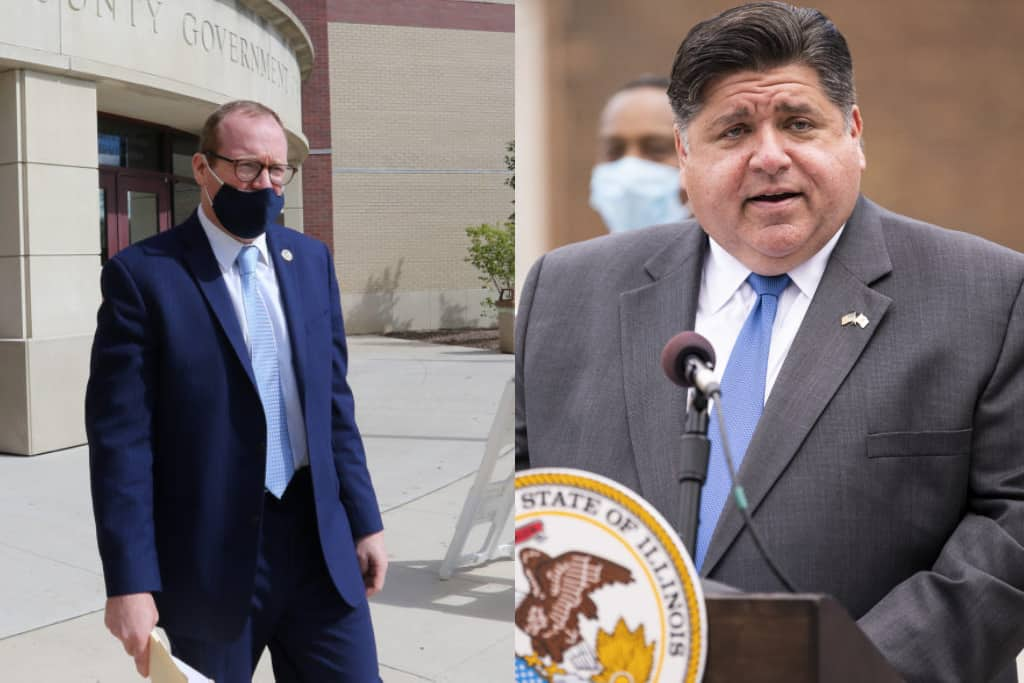 Gov. Pritzker tells McHenry County state's attorney to 'follow the law' on enforcing indoor dining ban