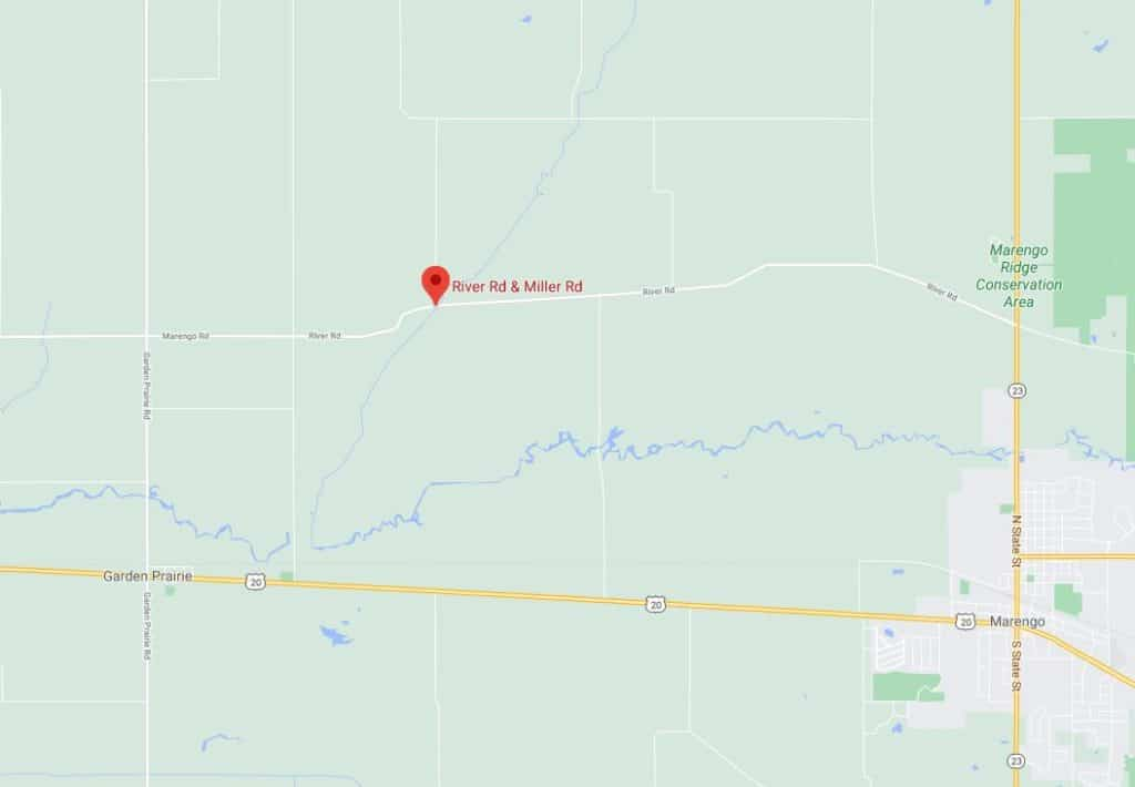 Motorcyclist found dead hours later after crashing in unincorporated Marengo