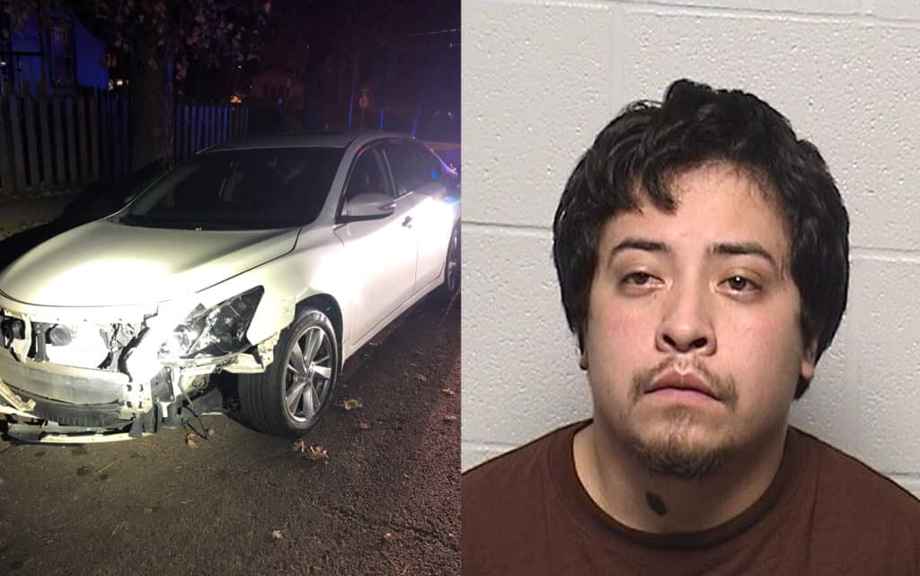 Drunk driver charged with hitting police car, fleeing scene in Waukegan