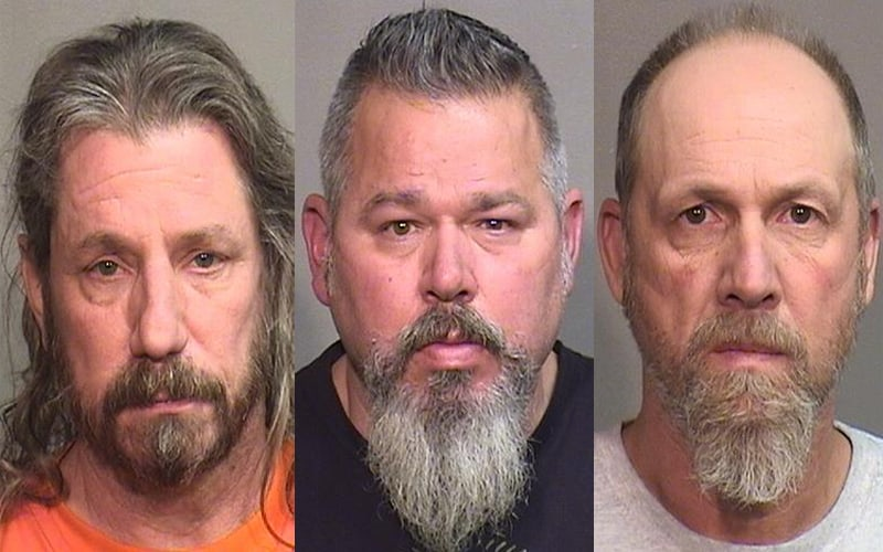 3 men charged with beating, seriously injuring father during bathroom dispute in Woodstock, police say
