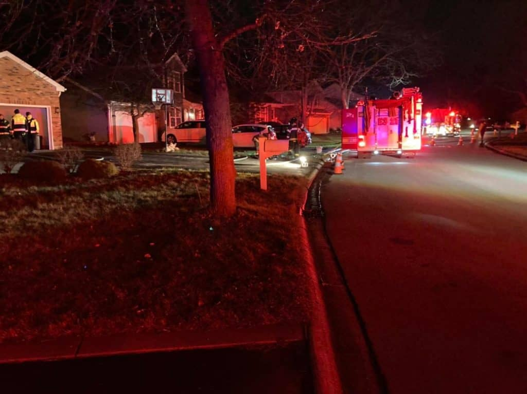 Firefighters quickly stop kitchen fire at Lake Zurich home
