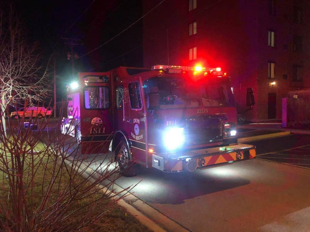 60-year-old woman dies following fire at senior apartment complex in Zion
