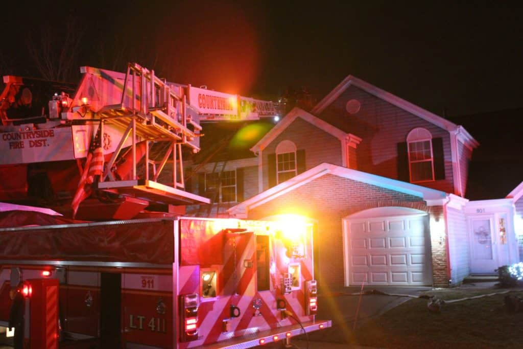No injuries in Christmas Day townhouse fire in Island Lake, officials say