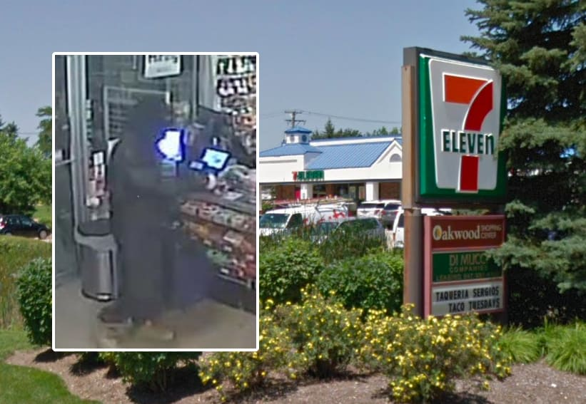 Armed man robs convenience store in Lake Zurich, escapes from police during chase