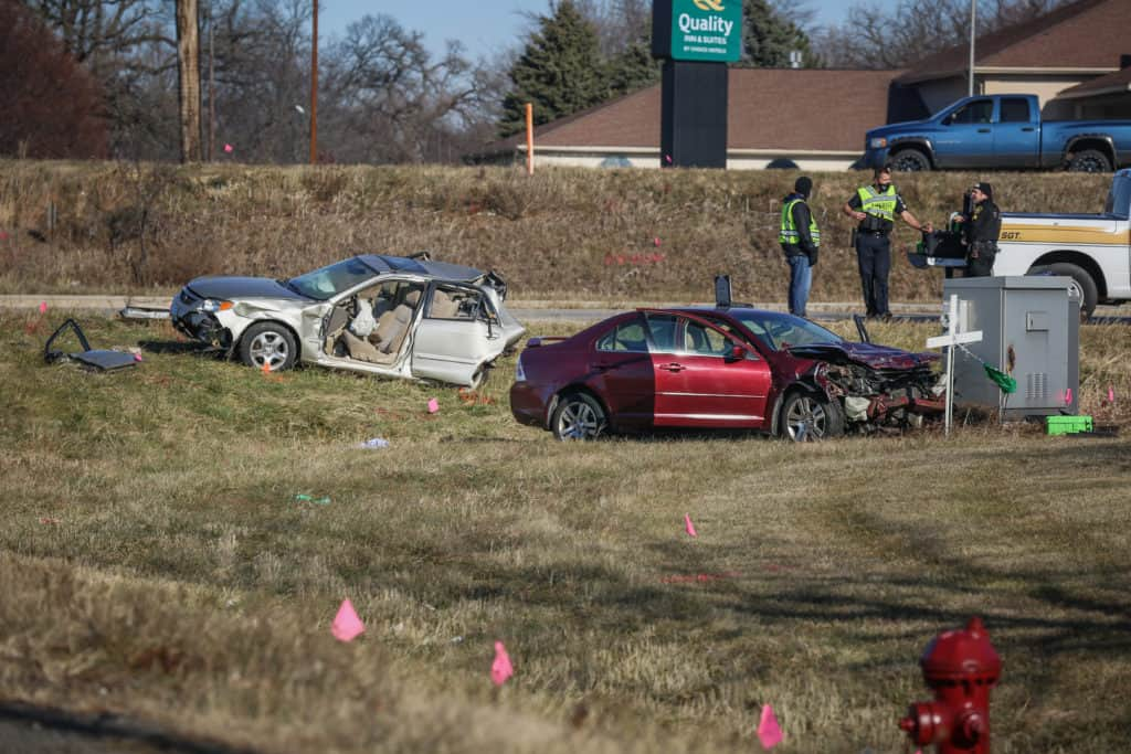 Driver possibly suffered medical emergency in high-speed Woodstock crash that killed 2 men