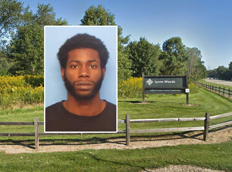 Man charged in attempted rape, robbery in Lyons Woods Forest Preserve near Waukegan