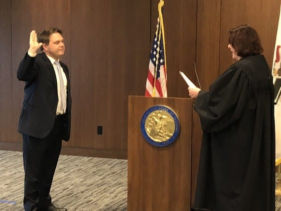 Eric Rinehart sworn in as the new Lake County state's attorney