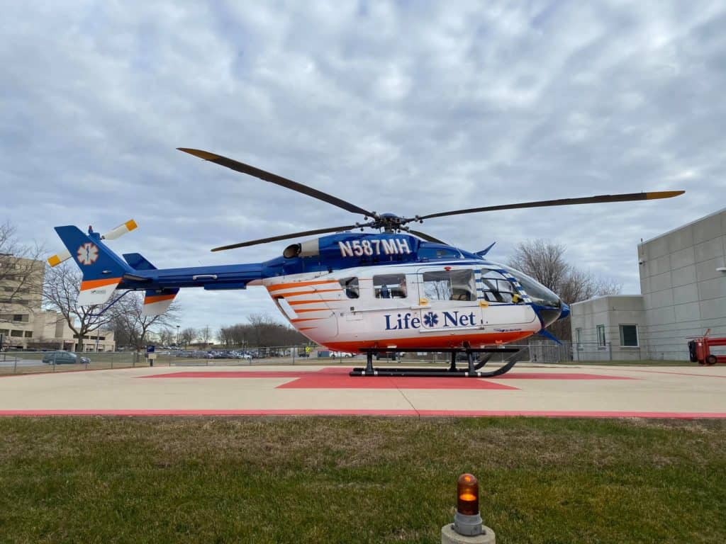 Passenger flown to the hospital, two others also injured after serious crash in McHenry
