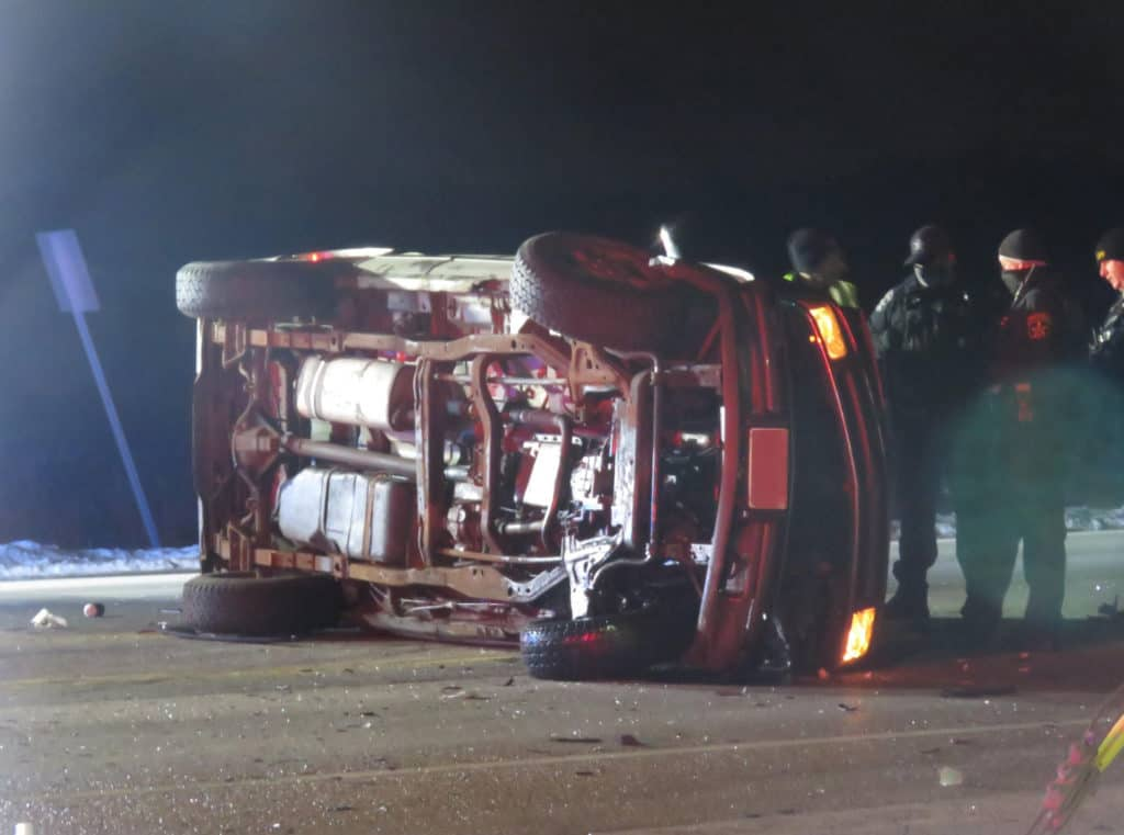 Mundelein man killed after being ejected from truck during rollover crash near Antioch