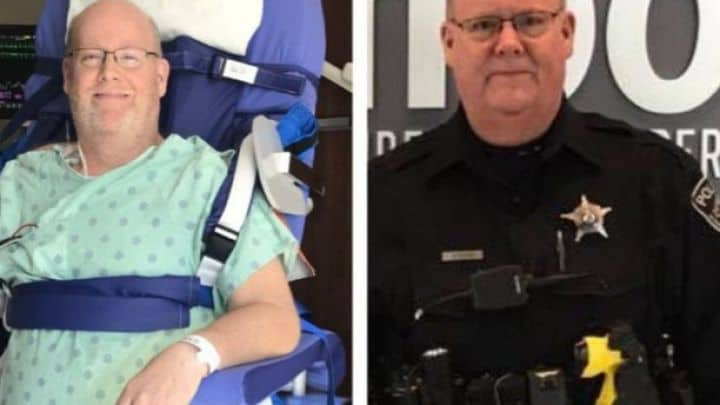 Lakemoor police officer bound to wheelchair seeking money for accessible van
