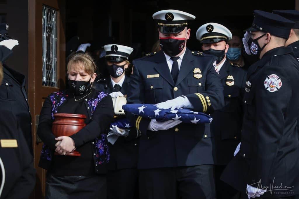 Huntley Deputy Fire Chief Albert Schlick laid to rest Wednesday
