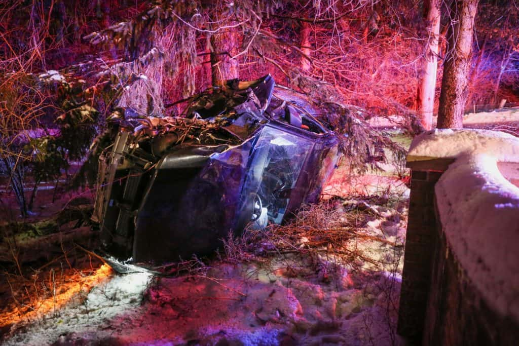 Driver flown to the hospital after rollover crash in Bull Valley
