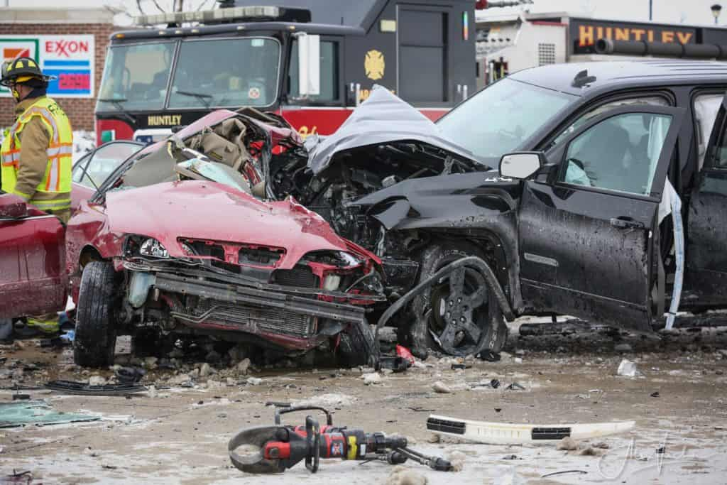 27-year-old man killed in two-vehicle crash in Huntley