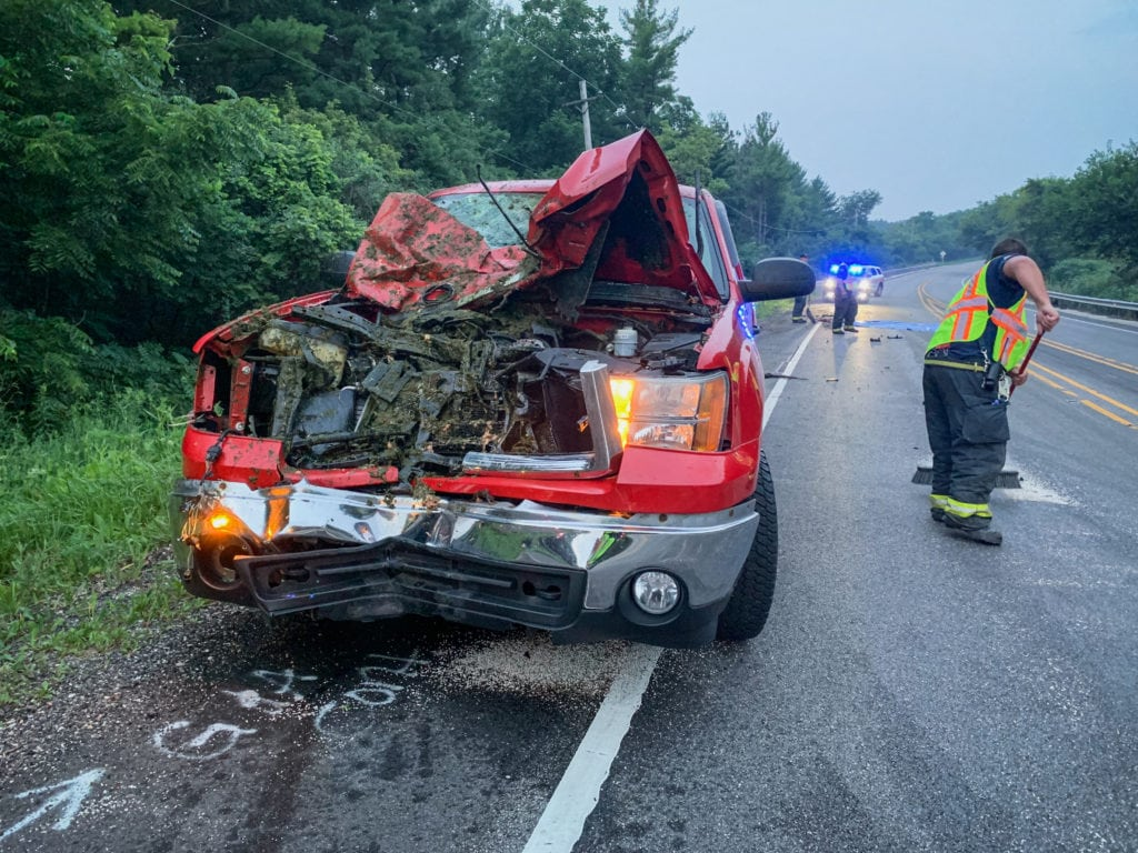 2 horses killed after being hit by separate vehicles on Route 120 near Woodstock