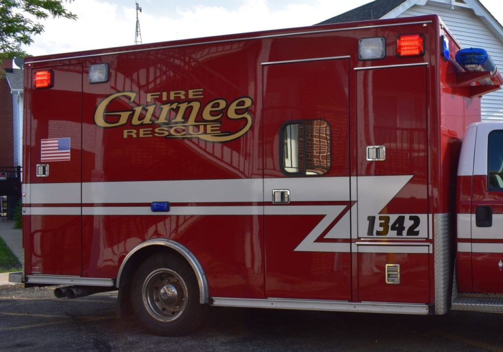 Police searching for driver of stolen vehicle that hit ambulance, fled the scene in Gurnee